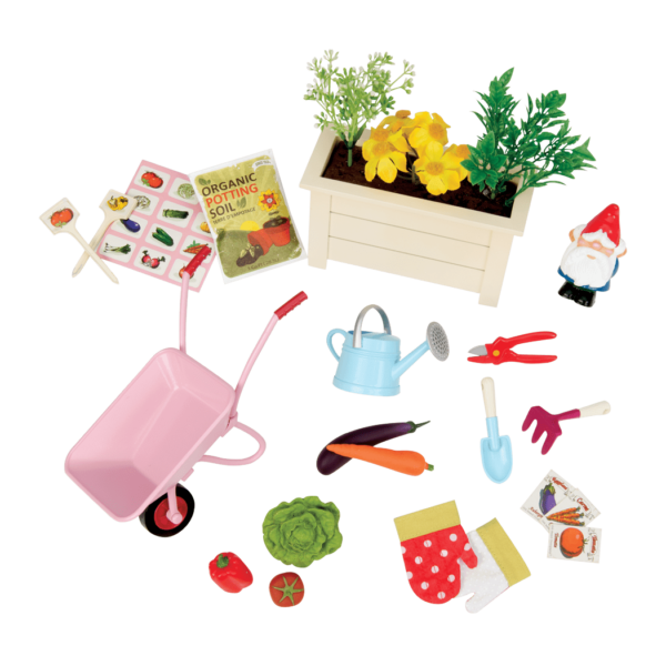Way to Grow Garden Accessories for 18-inch Dolls