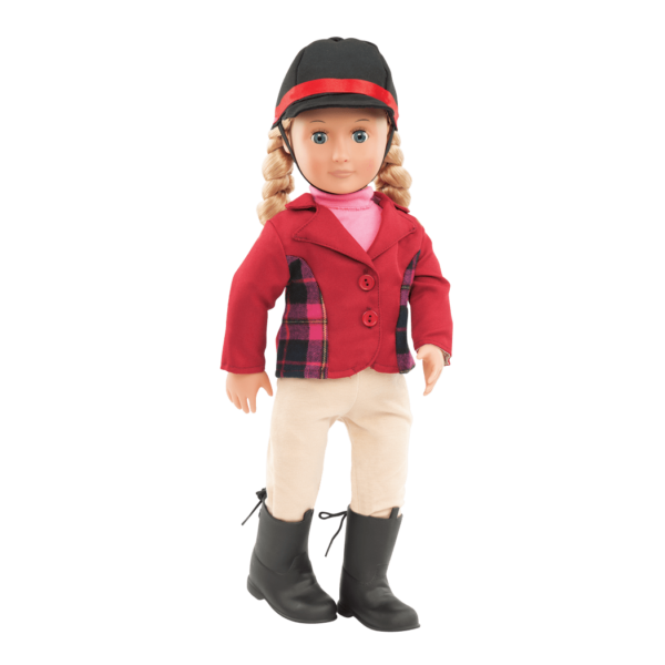 Lily Anna doll wearing outfit
