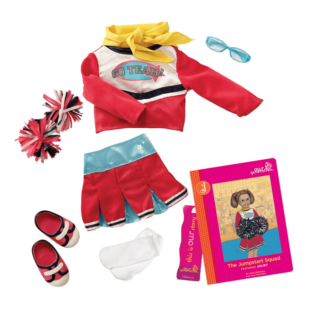 Juliet Read & Play - Outfit and Book Set for 18-inch Dolls