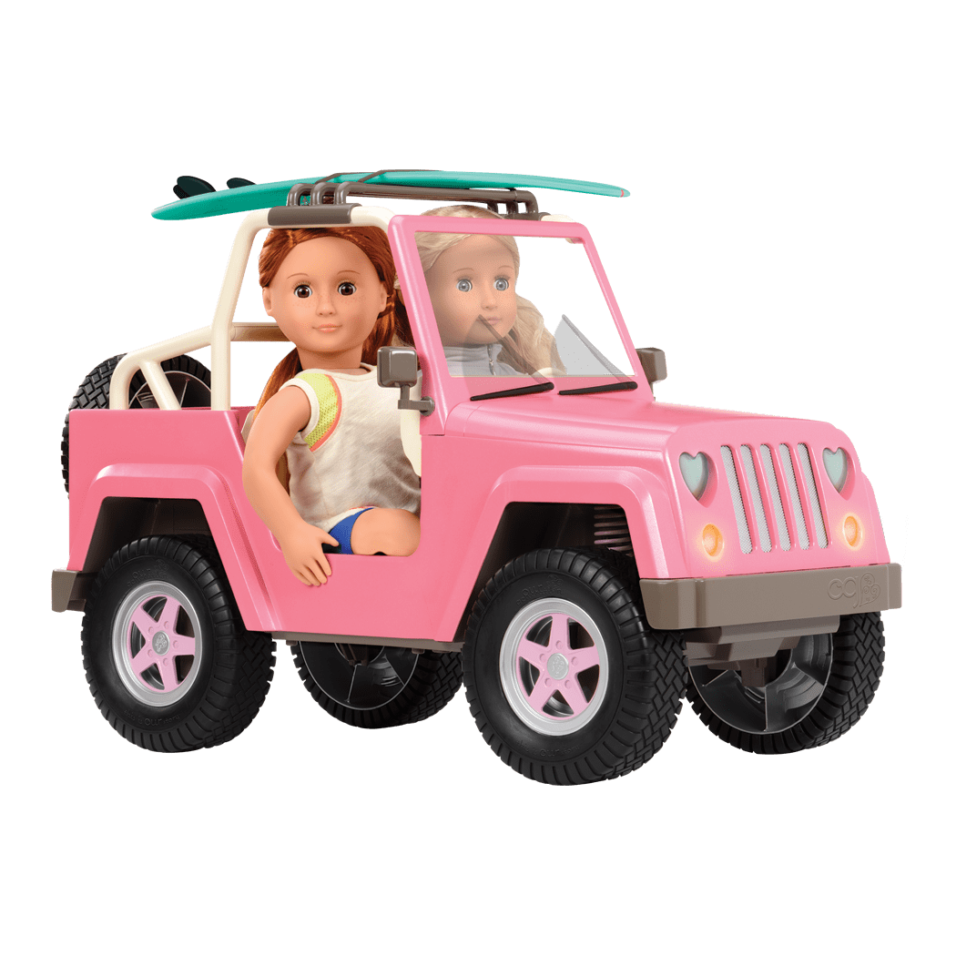 OG Off Roader with Coral and Noa driving