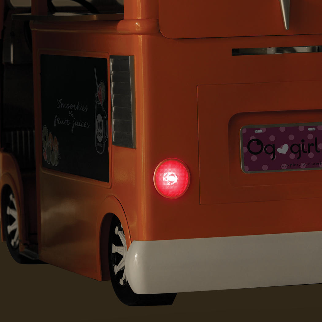Grill to Go Food Truck brakelights detail