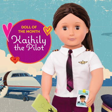 Kaihily the Pilot - November Doll of the Month