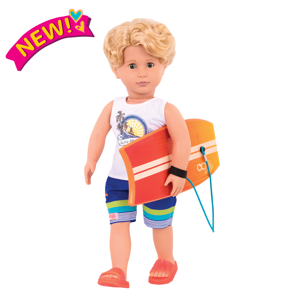 Gabe the Surfer Boy Doll