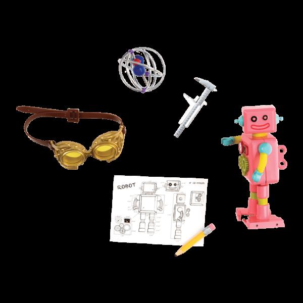 Details of inventor accessories