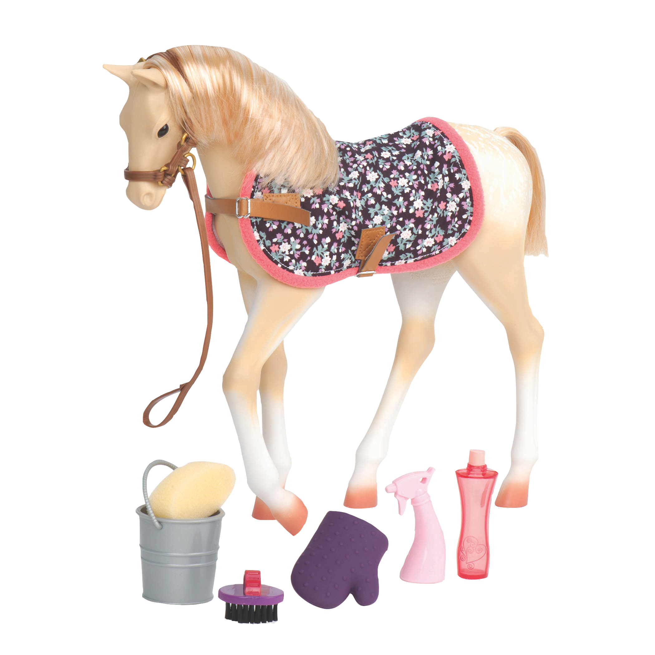 Palomino Foal all components
