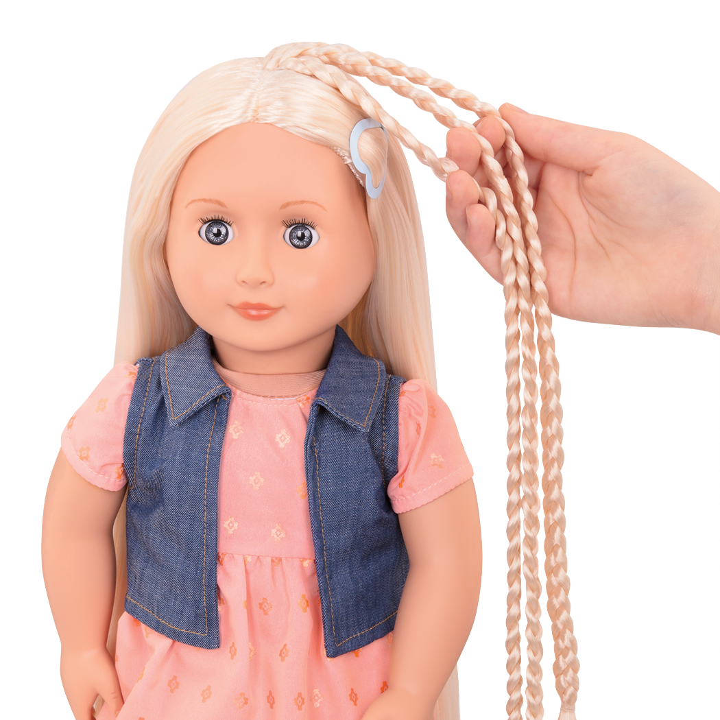 BD31203 Lyra hairplay doll hair extension detail01