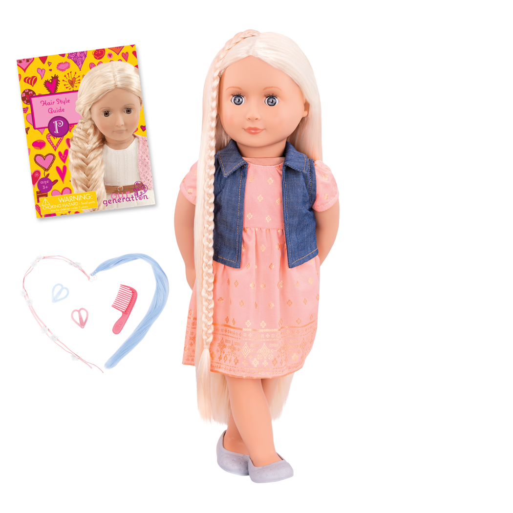 BD31203 Lyra hairplay doll all components