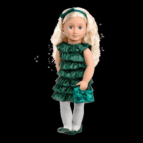 Audrey Ann wearing fancy dress