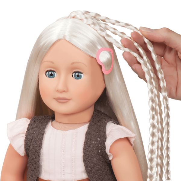 BD31043 Penny Hairplay Doll hair extension detail01