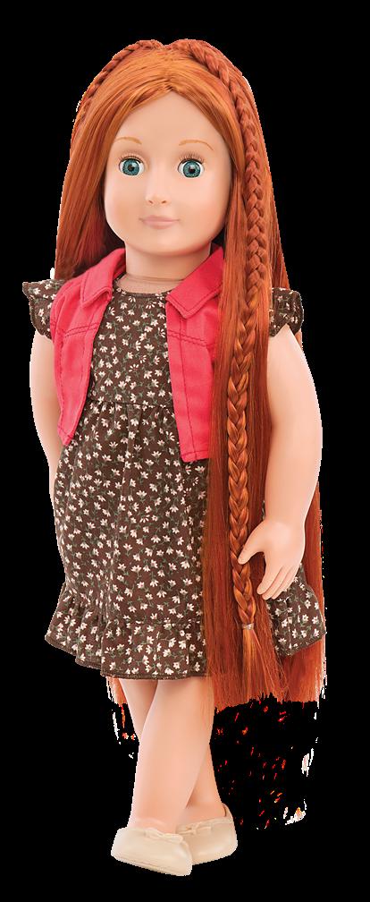 BD31054 Peyton Hairplay Doll standing03