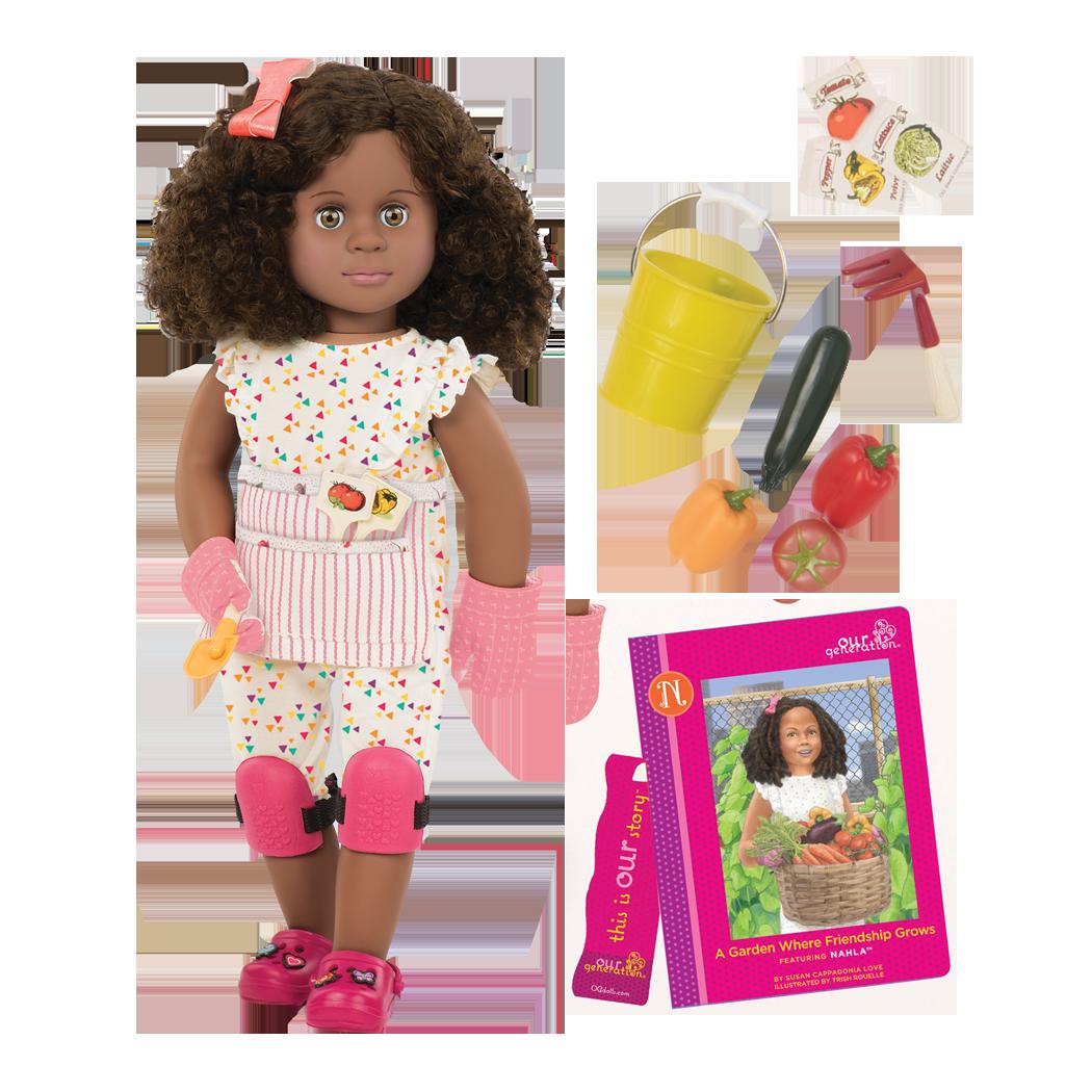 Nahla Deluxe 18-inch Doll