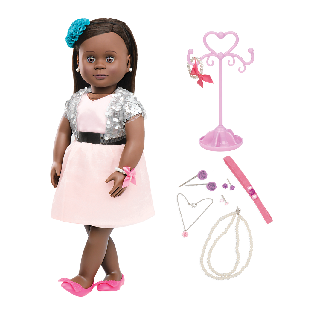 Maeva 18-inch Jewelry Doll
