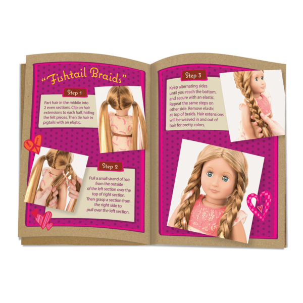 BD31073 Portia Hairplay Doll style guide