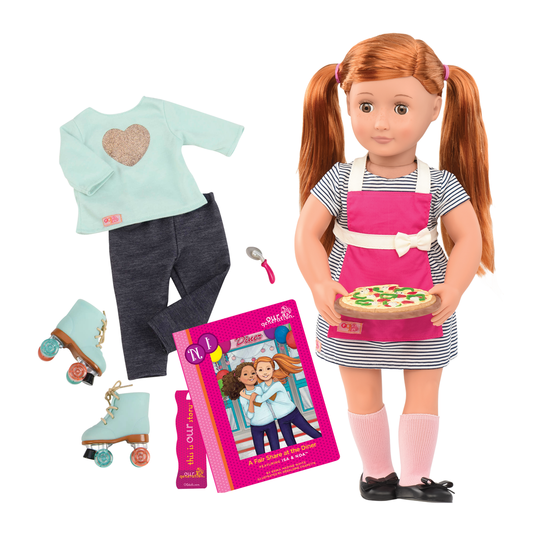 Noa Deluxe 18-inch Doll with Storybook