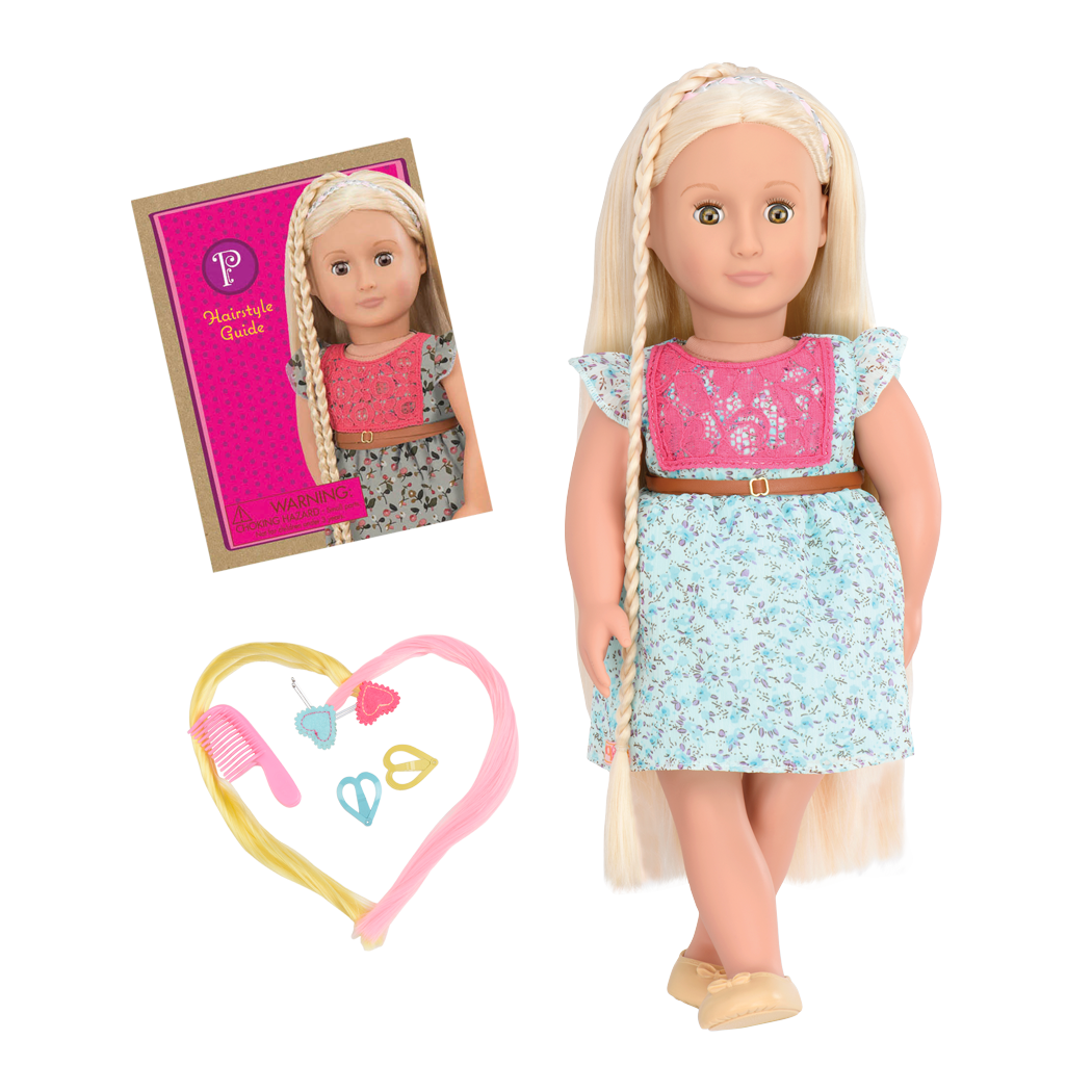 BD31096 Pria Hairplay Doll all components