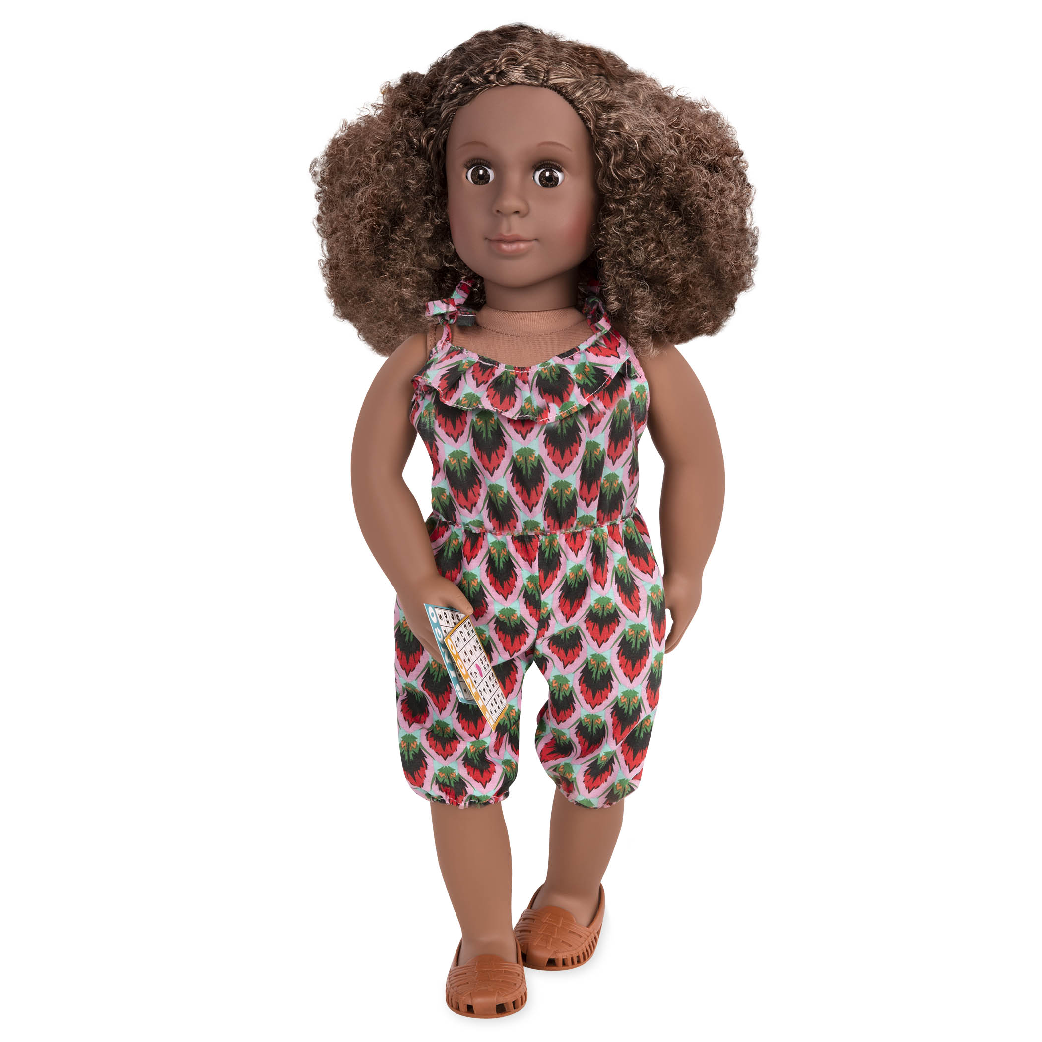 Denelle wearing sun outfit