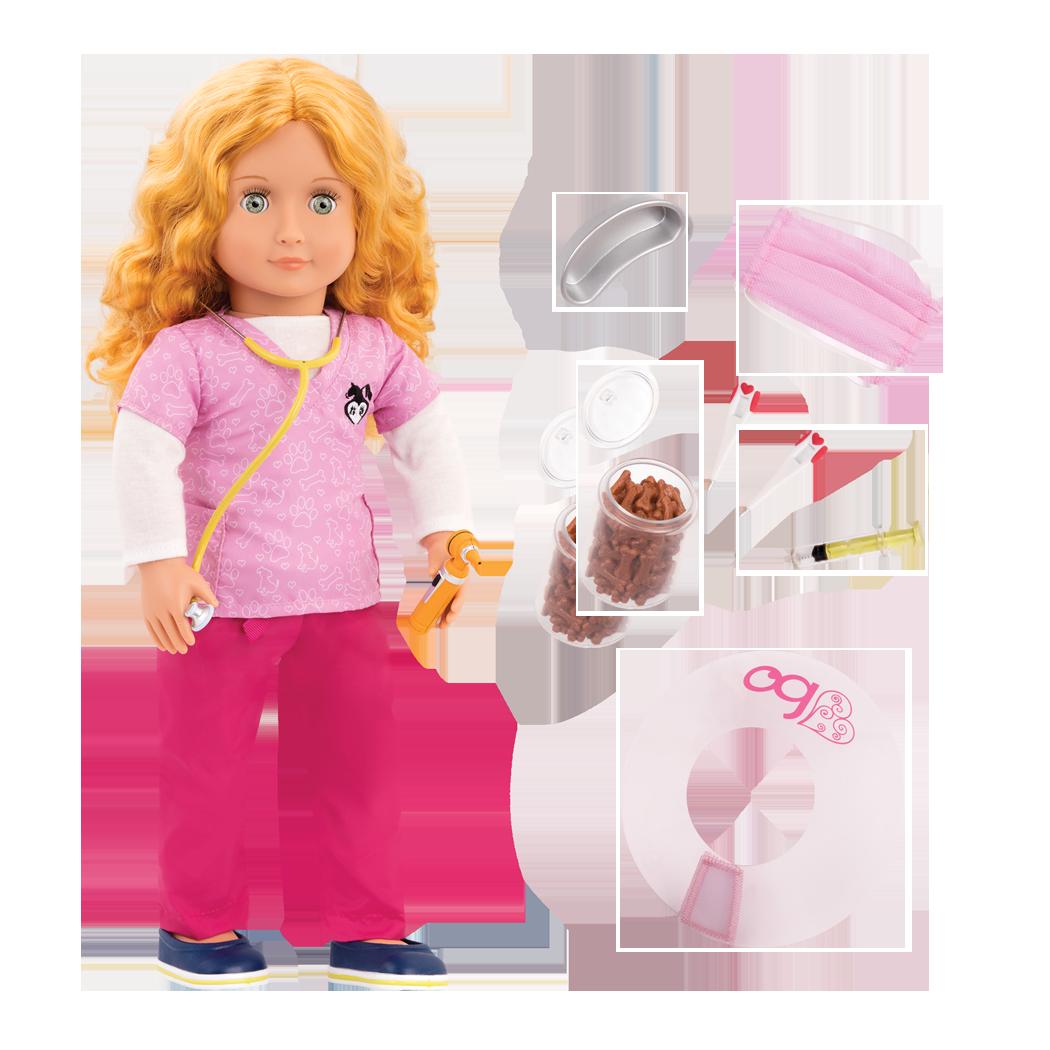Anais 18-inch Veterinarian Doll