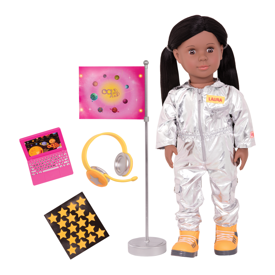 Laura 18-inch Astronaut Doll