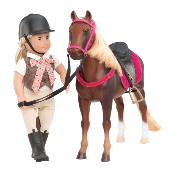 Persian Show Horse with Leah doll