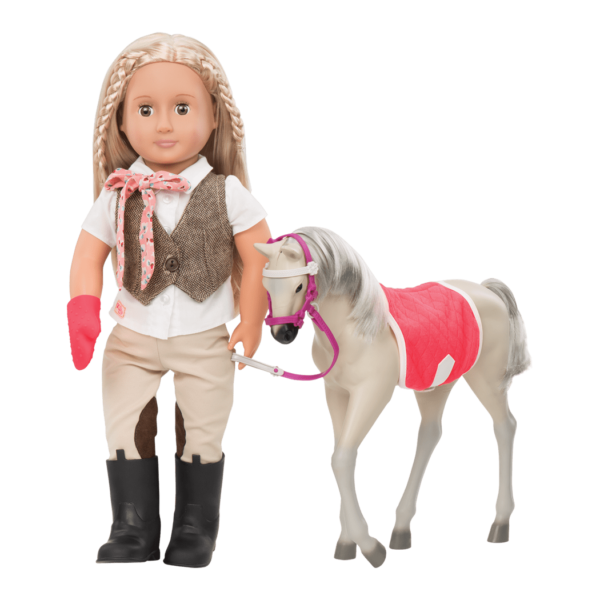Mustang Foal with Leah doll03