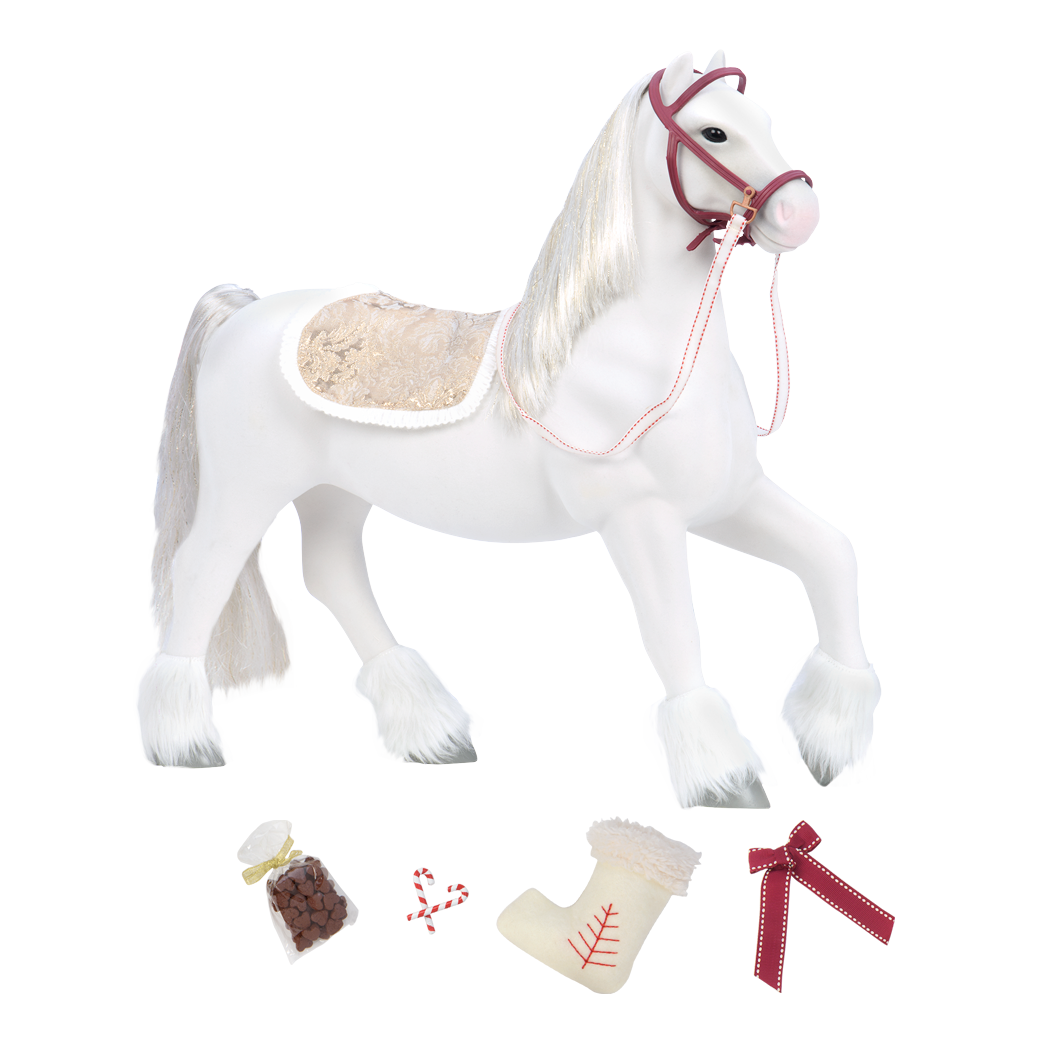 Clydesdale Horse all components
