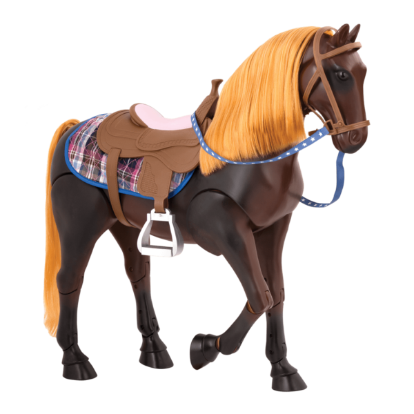 Posable Thoroughbred Horse