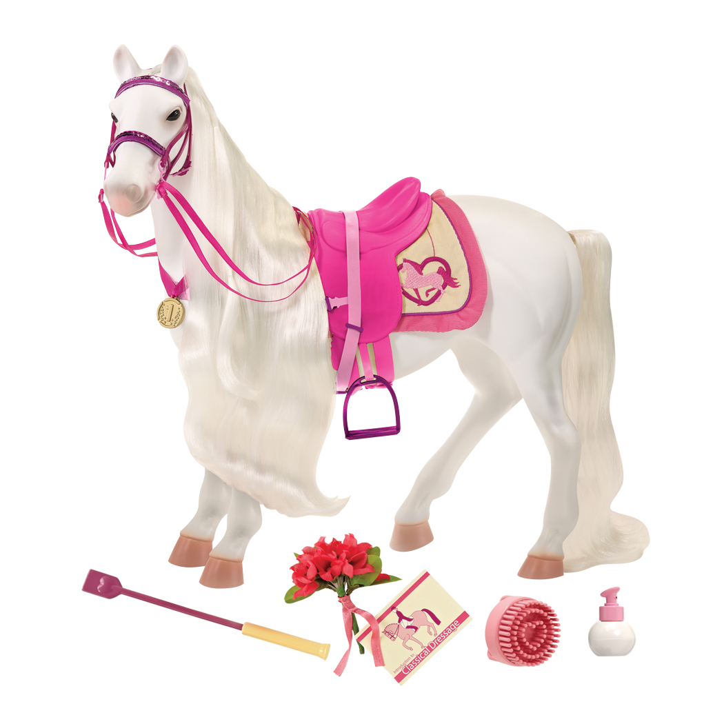 Tennessee Walking Horse 20-inch Toy Horse for Dolls