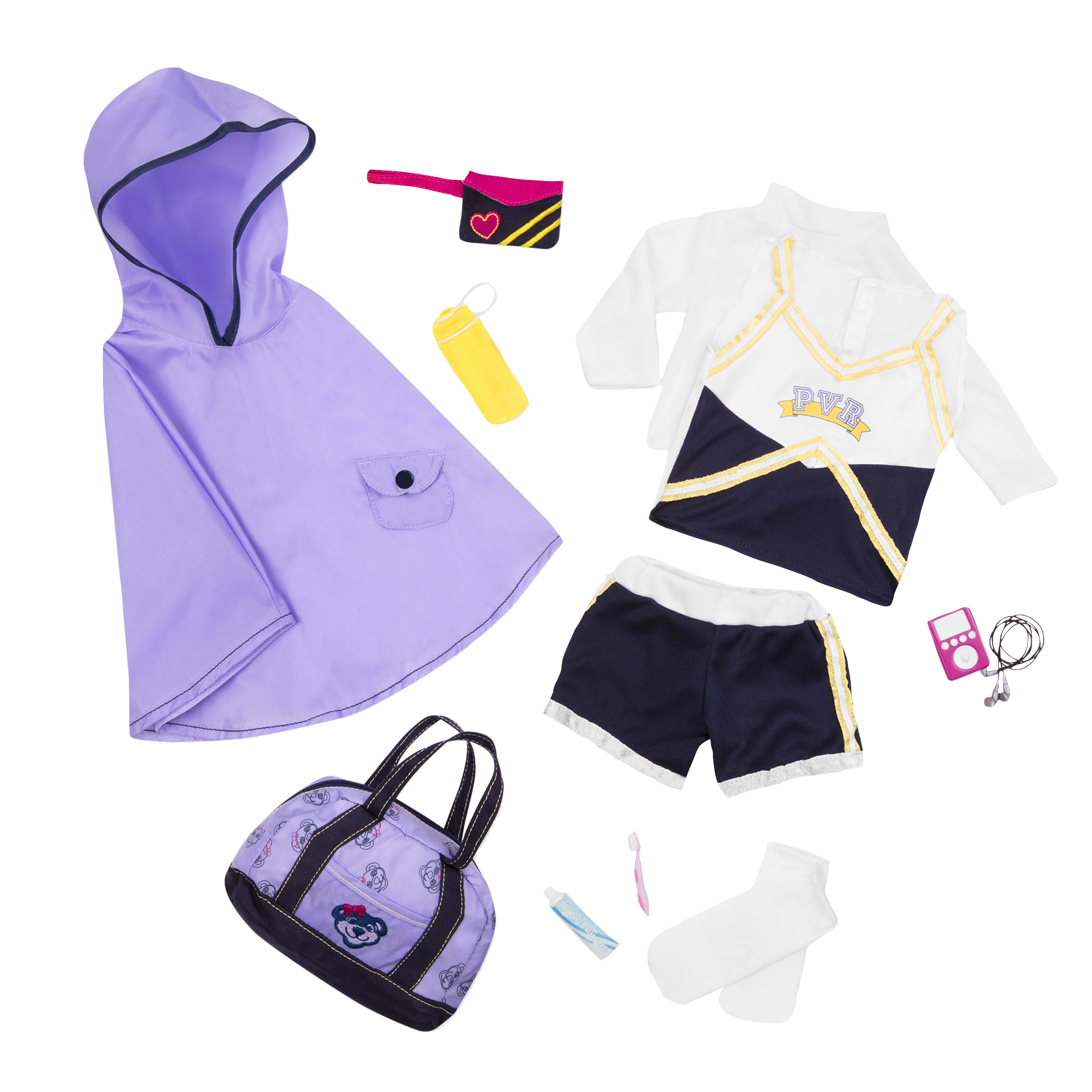 Cheerleader Camp Set all components