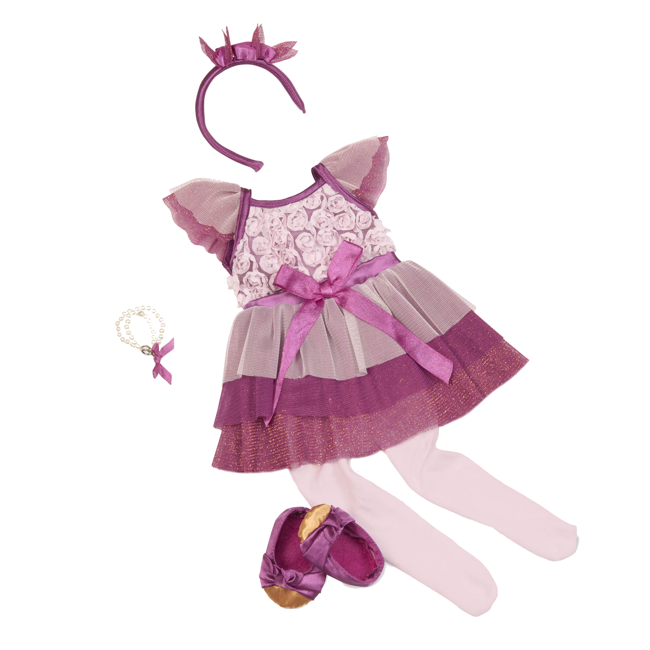 Twinkle Rose Outfit all components