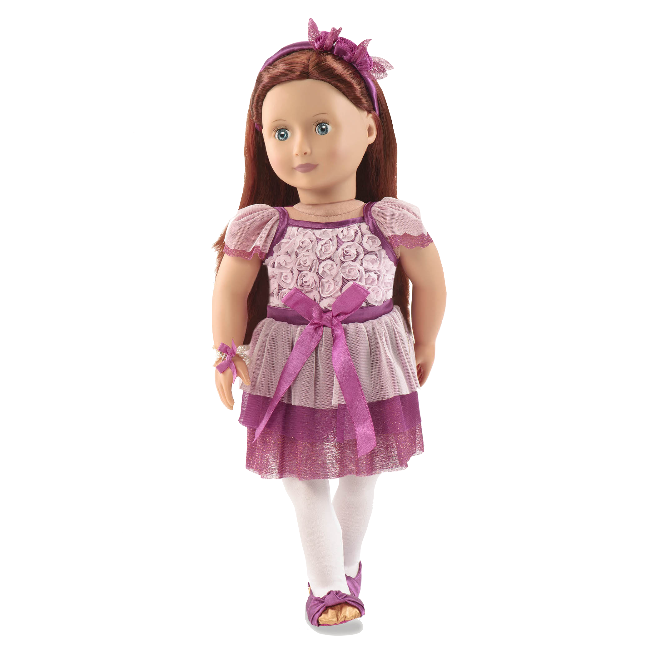 Twinkle Rose Outfit Ayla doll wearing01