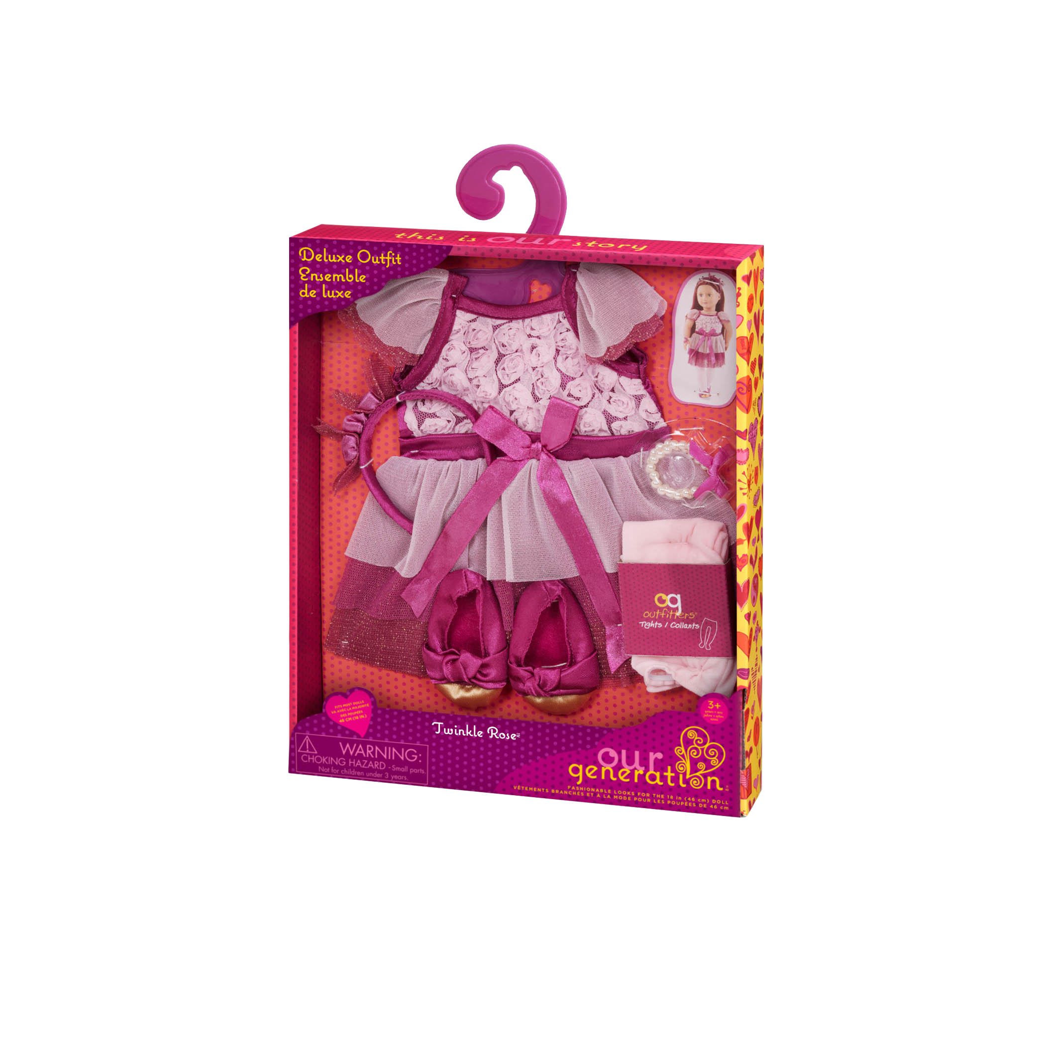 Twinkle Rose Outfit package02