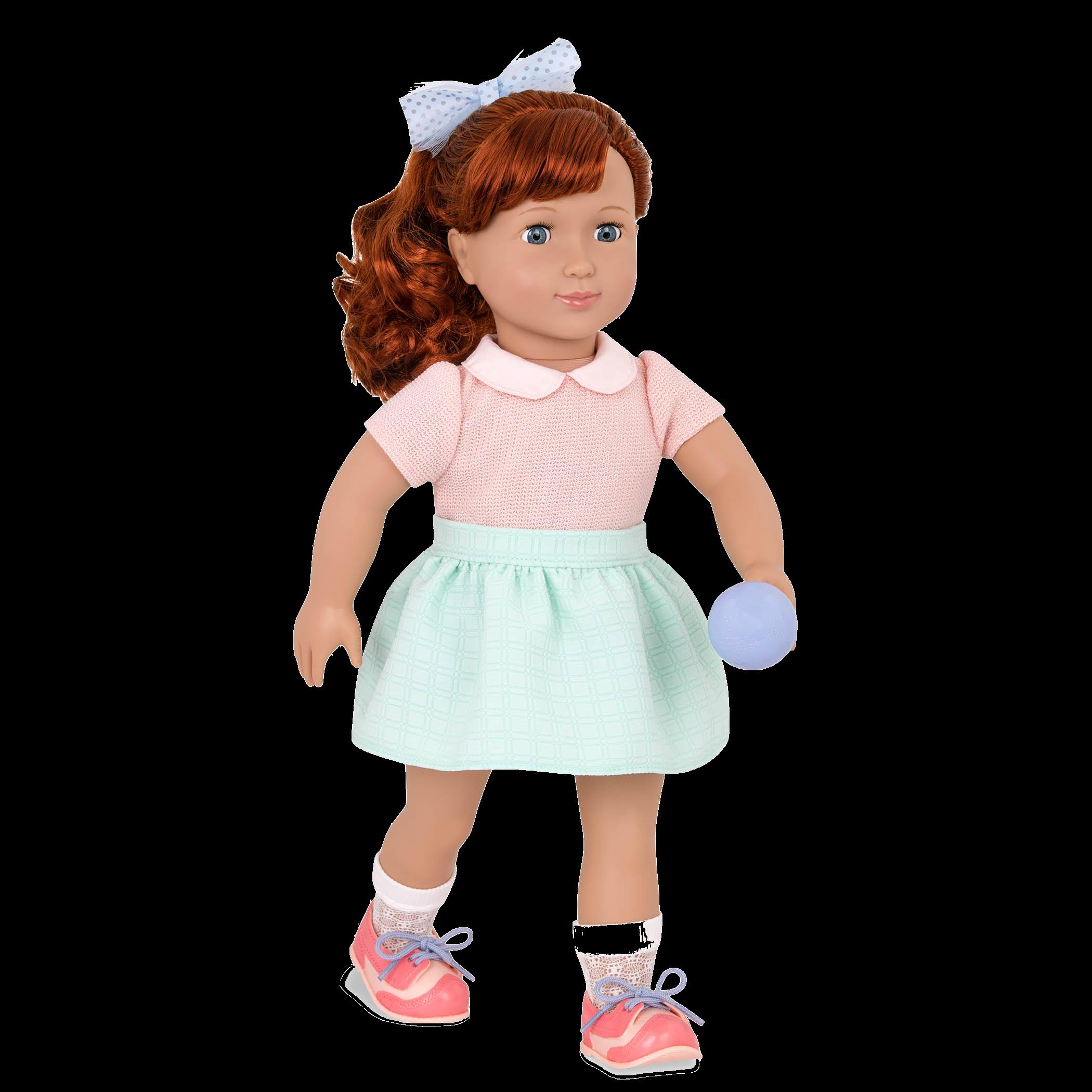 Kaye Retro 18-inch Bowling Doll