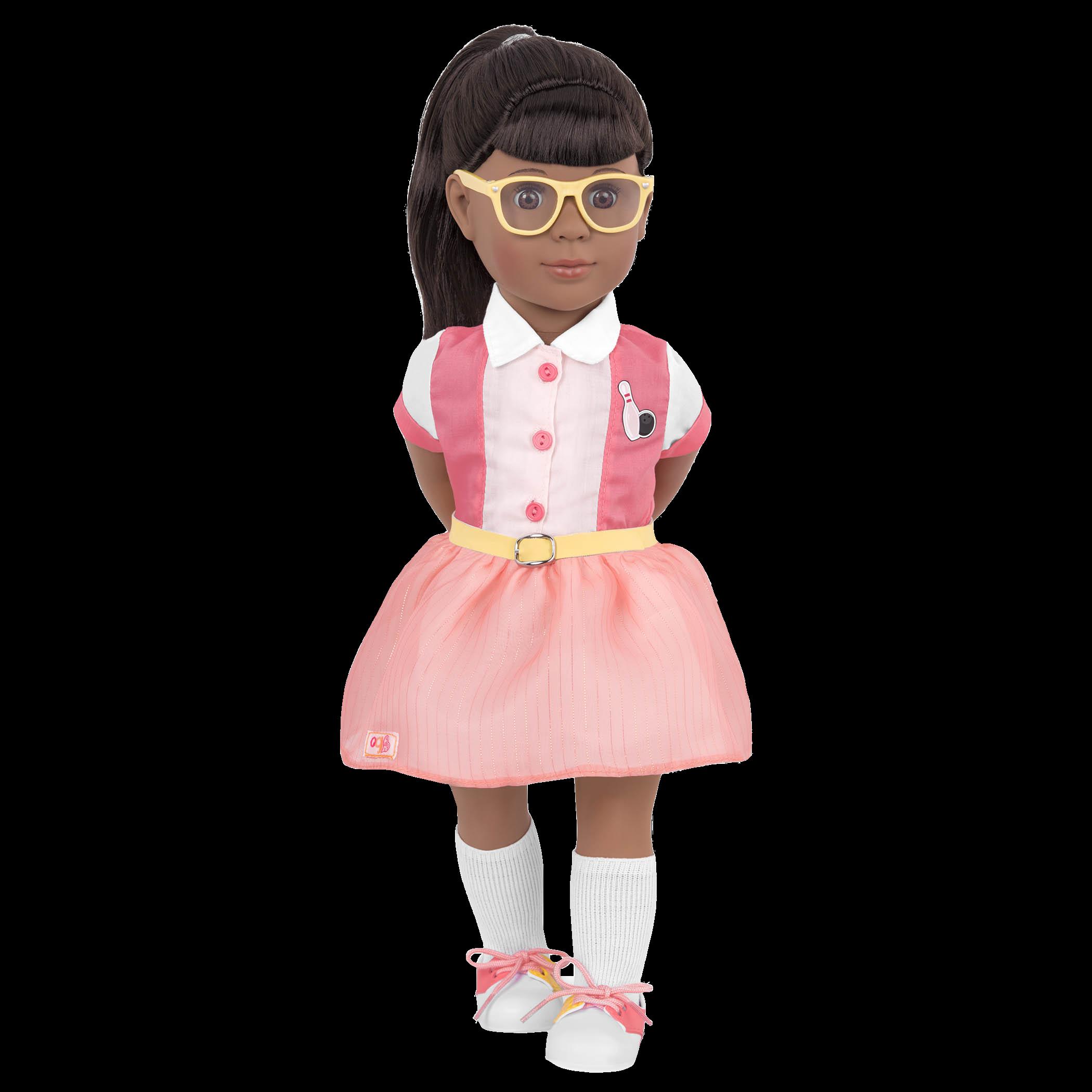 Liah Retro 18-inch Bowling Doll