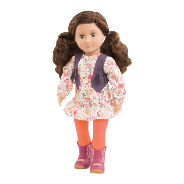 Jackie 18-inch Retro Hippie Doll
