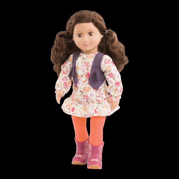 Jackie 18-inch Retro Hippie Doll