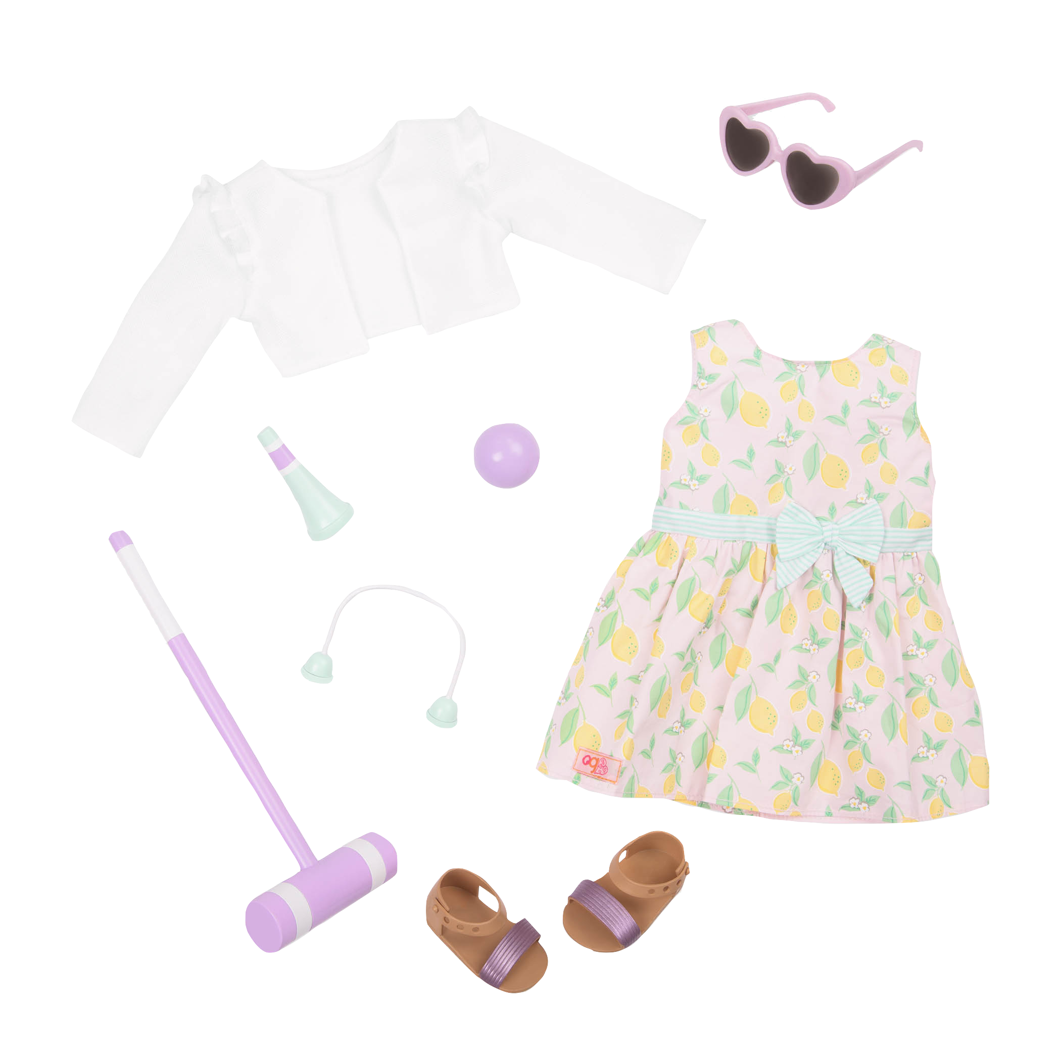 Croquet Play outfit all components