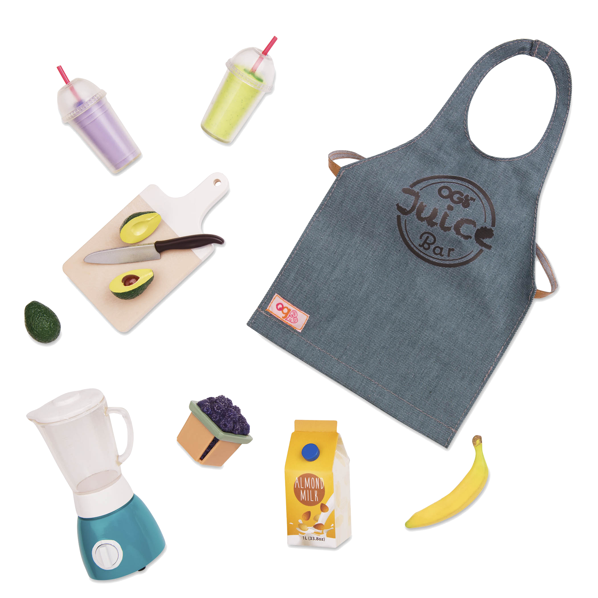 OG Grill Juice Bar Accessory Set all components