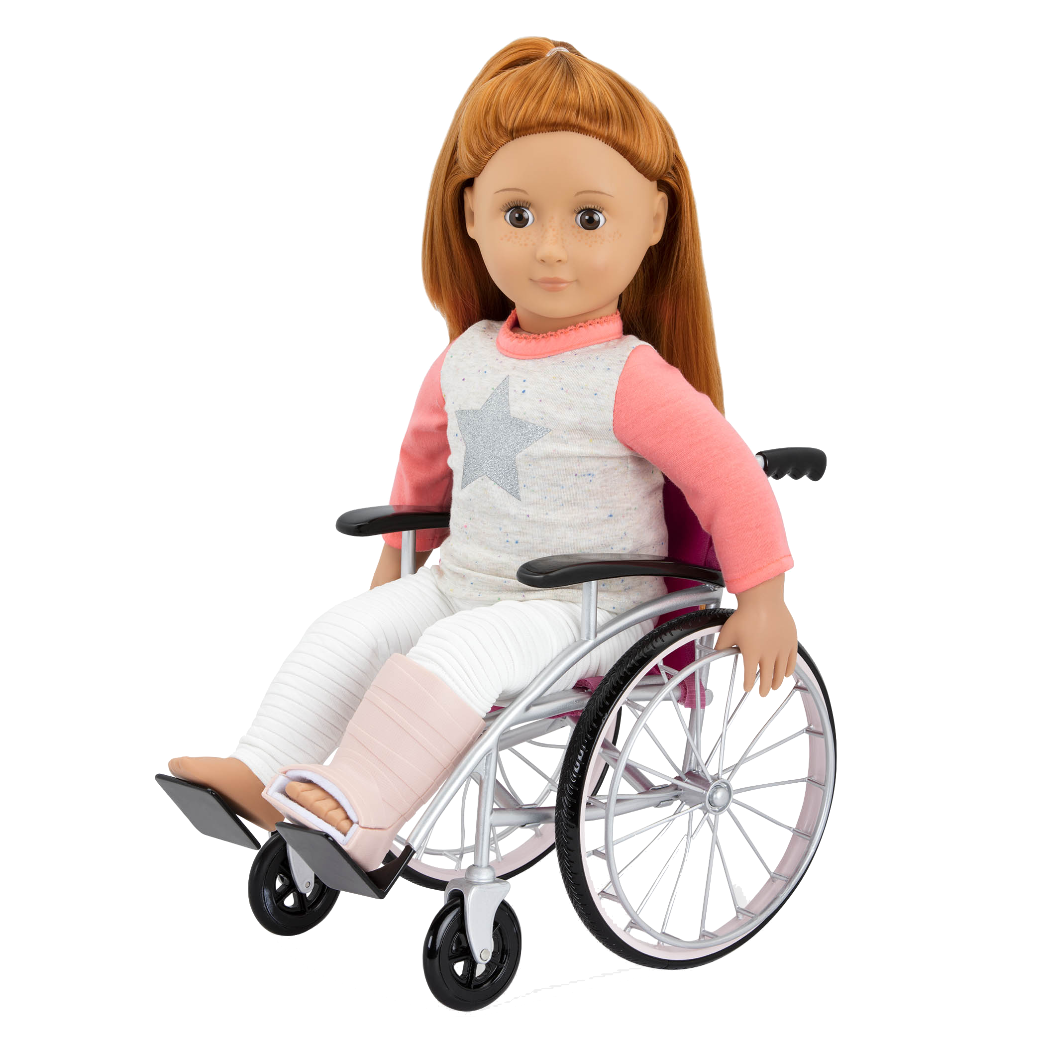 Heals on Wheels medical Accessories Noa in wheelchair