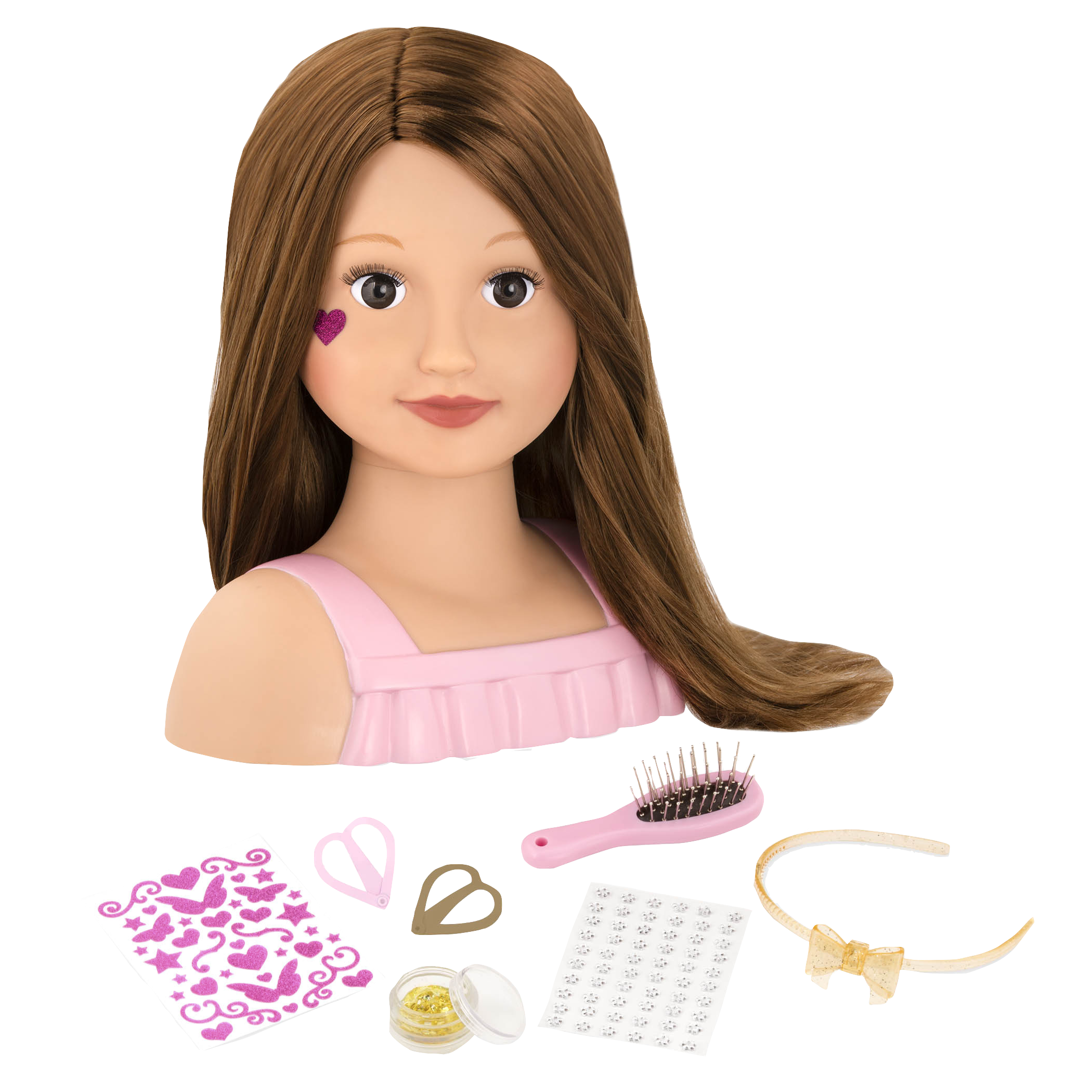 Talia Doll Hairstyle Styling Head