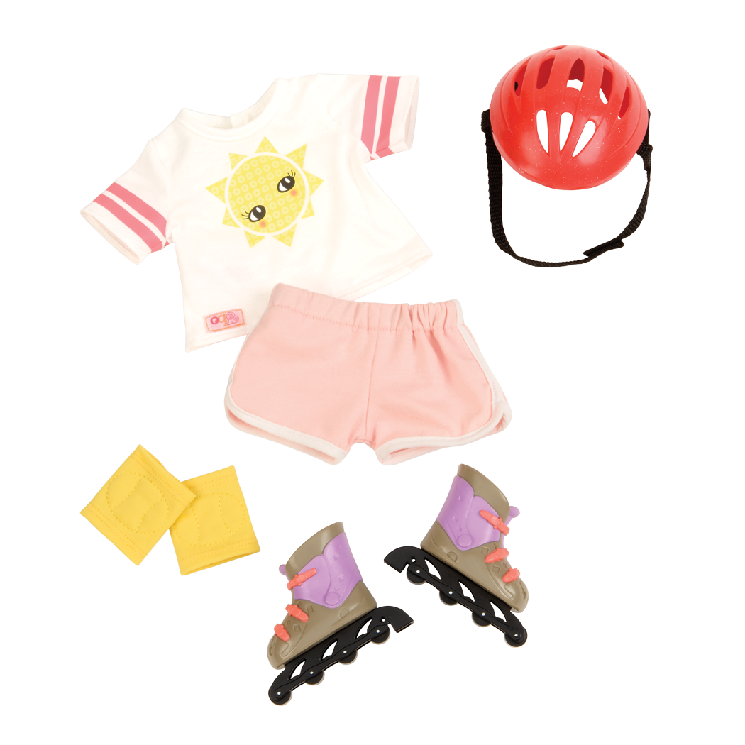 Roll With It rollerblade outfit all components