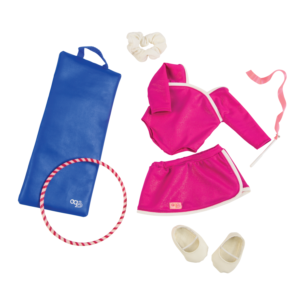 Leaps and Bounds gymnast outfit all components