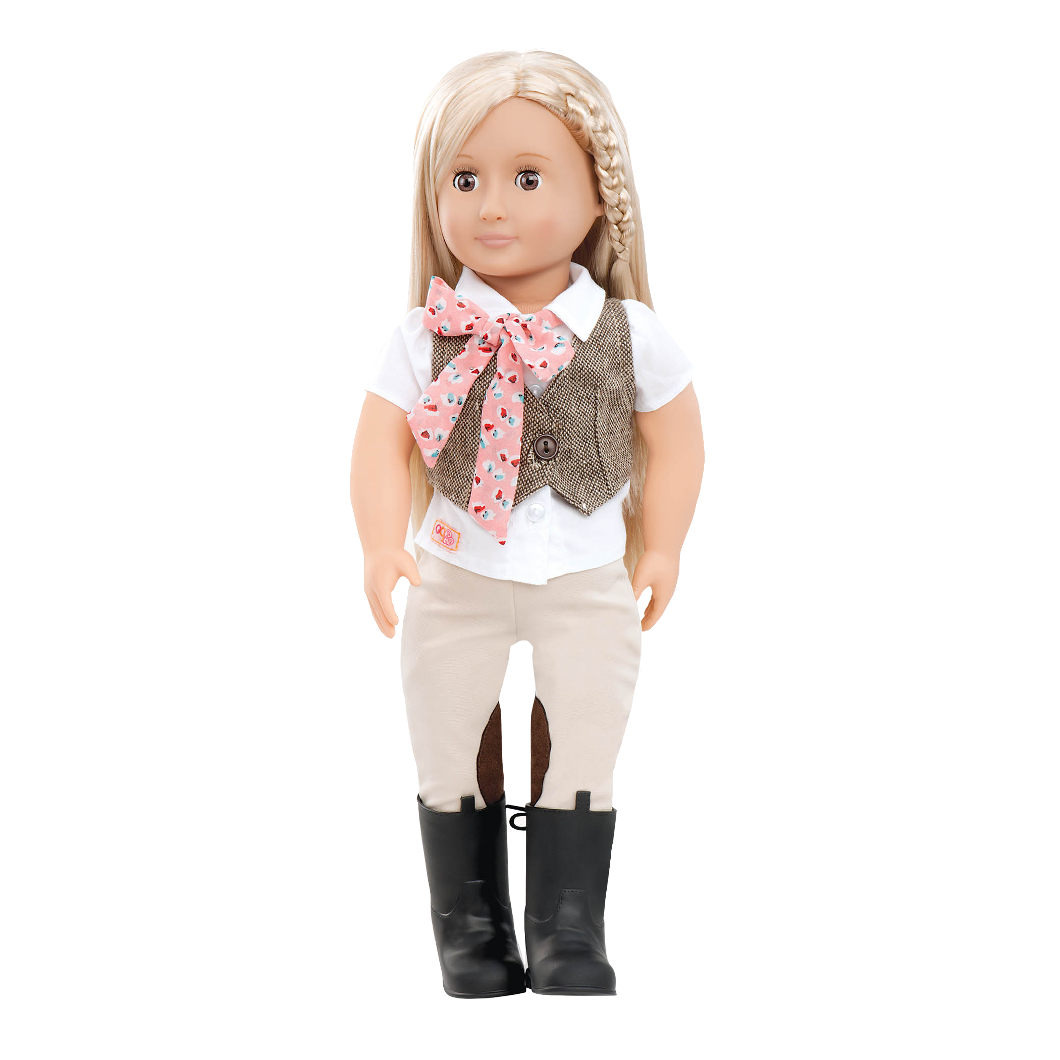 Leah 18-inch Riding Doll