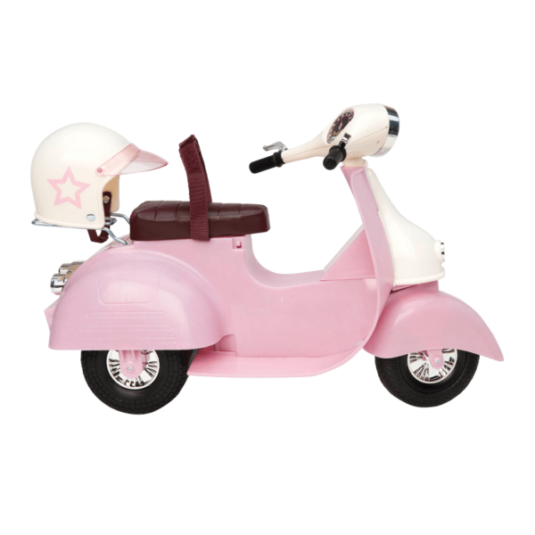 Ride in Style pink and ivory