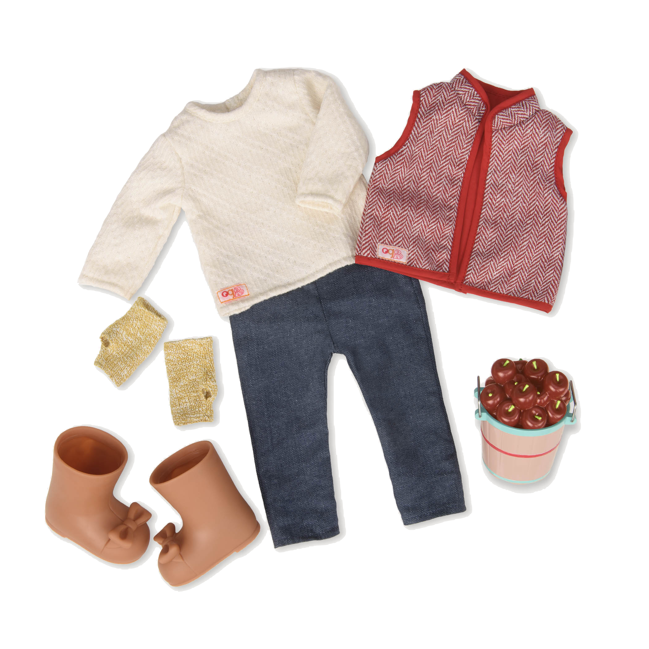 Fall For Apples Deluxe Outfit