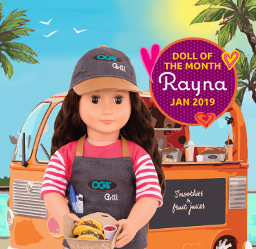 January's Doll of the Month - Rayna