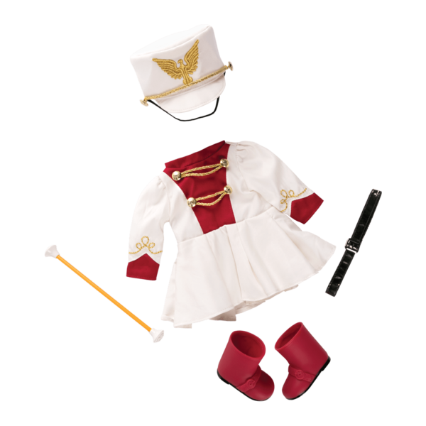 Marching Band Retro Outfit for 18-inch Dolls