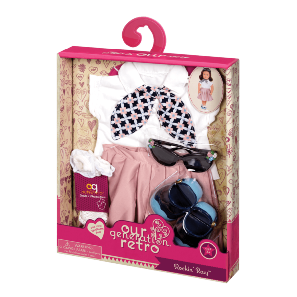 Rockin' Rosy Retro Outfit package