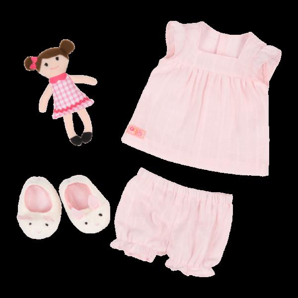 Pajamarama Retro Sleepwear outfit for 18-inch Dolls