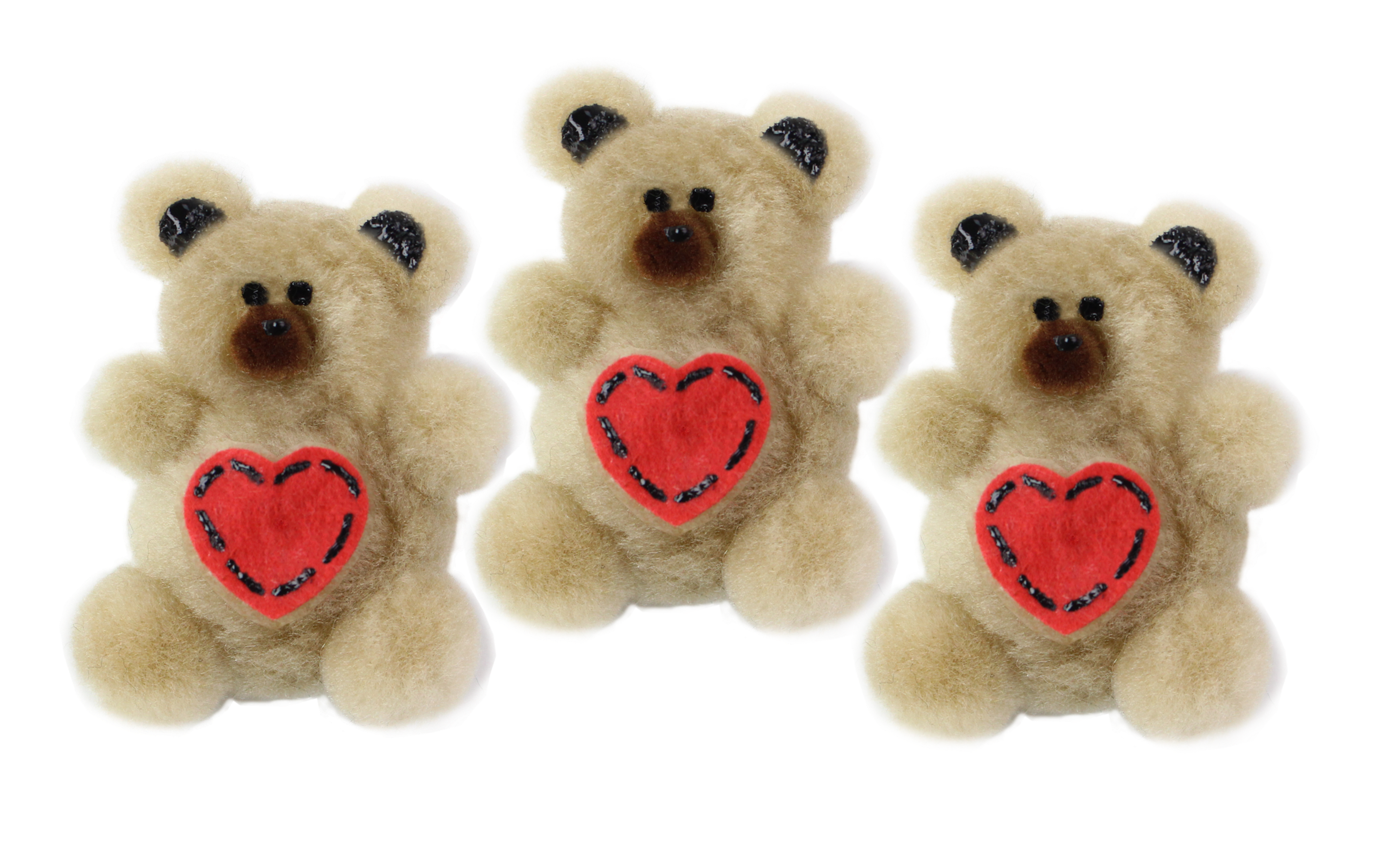Make a cute DIY Pom Pom Teddy Bear to share with your dolls and friends!