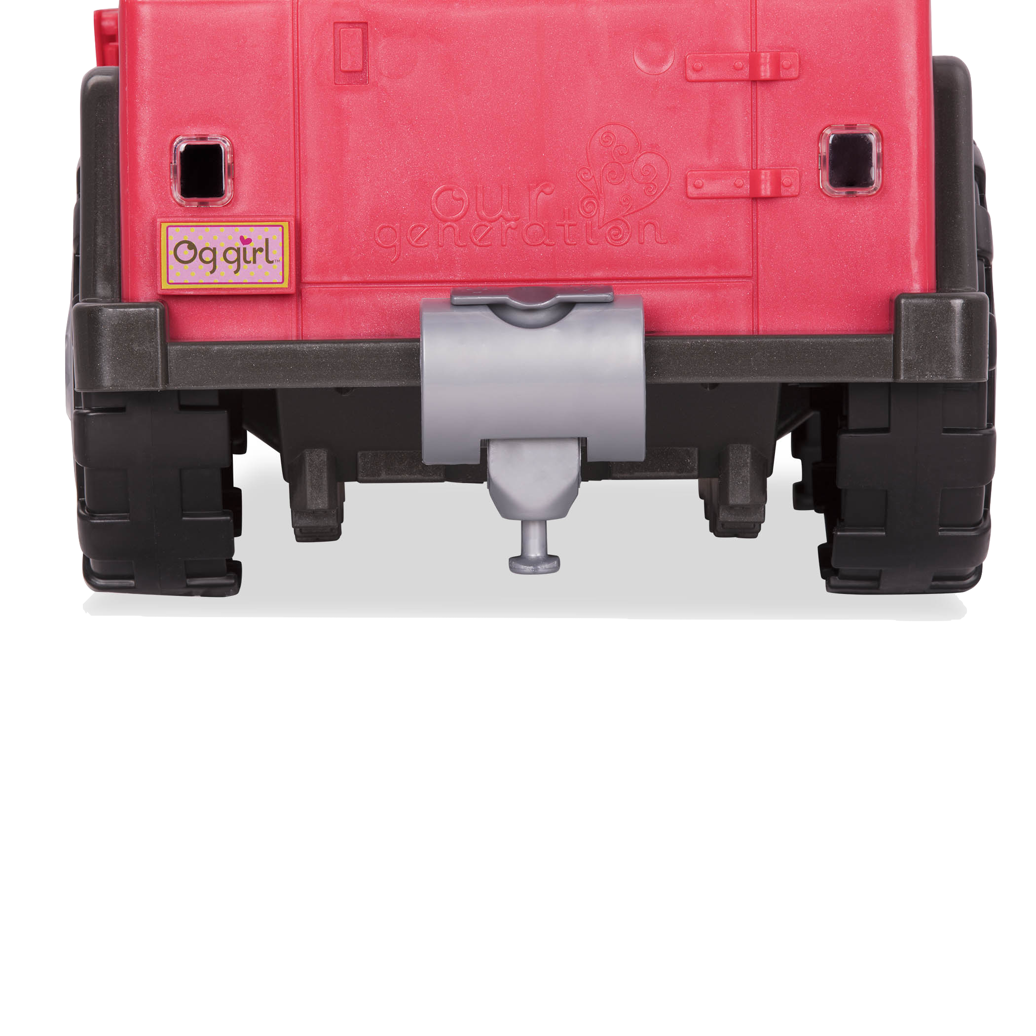 Trailer Hitch component attached to 4x4